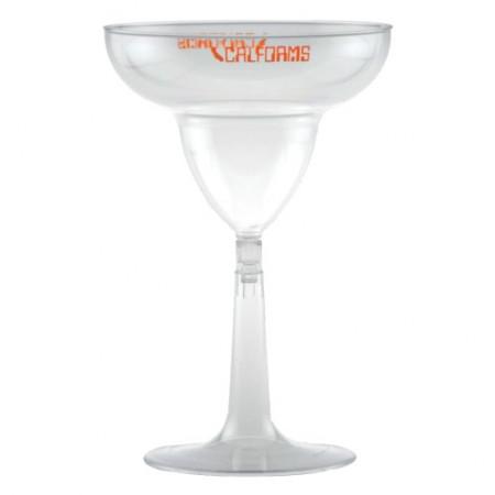 12 oz. Clear Plastic Margarita Glass