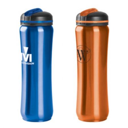 28 oz. Slim Stainless Steel Water Bottles