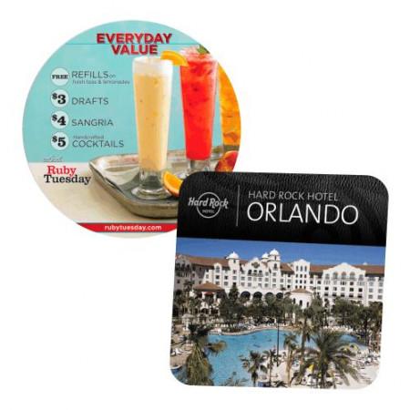 SuperValue Full Color Coasters (80 pt.)