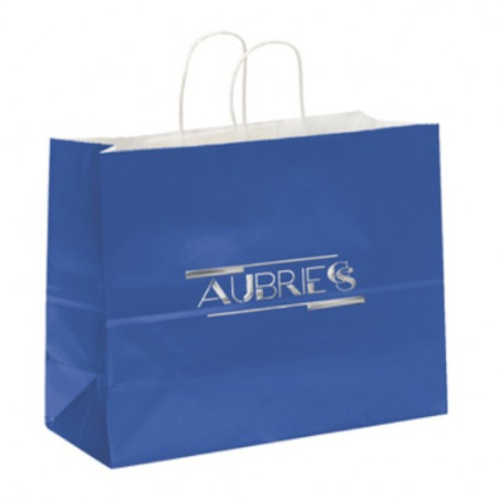 "Gloss Paper Shoppers (16"" x 12"" x 6"")"