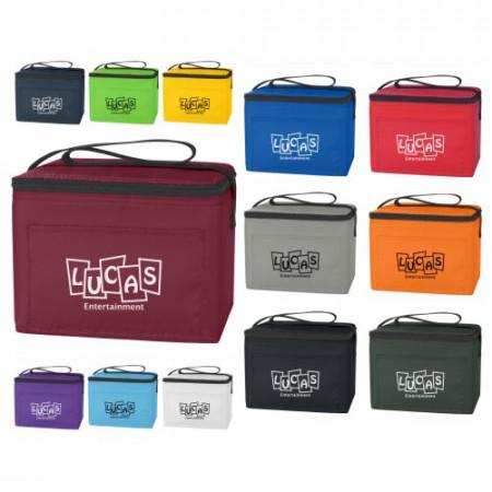 """Budget Poly Cooler Bag (8"""" x 6"""" x 6"""")"""