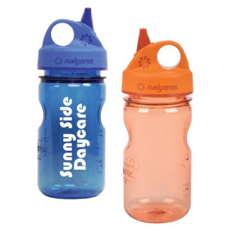 12 oz. Tritan Grip 'n Gulp Nalgene Bottles
