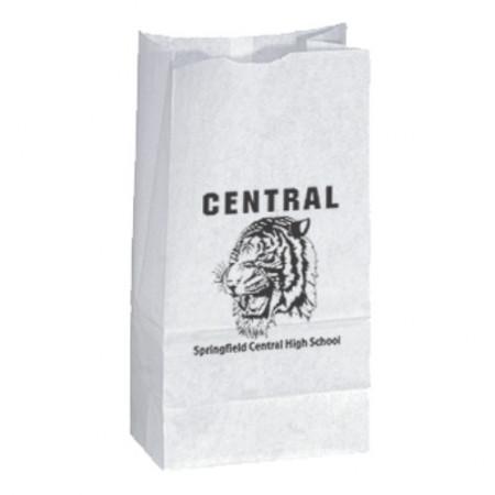 "Popcorn Bags - White (4.75"" x 8.75"" x 3"")"