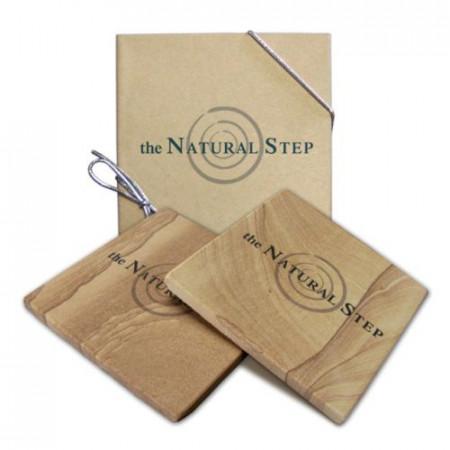 Stone Coasters - Boxed Set of 2