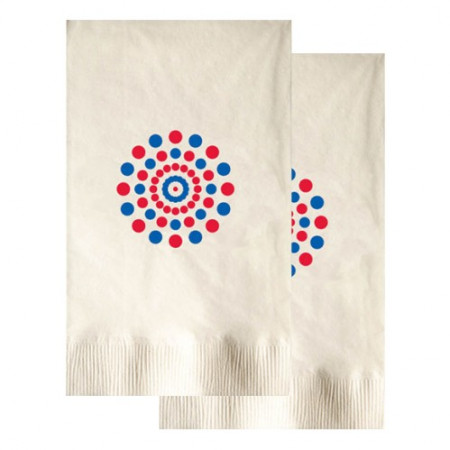 Vanilla Dinner Napkins (2-Ply - Large Quantities)
