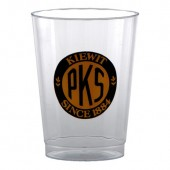 10 oz. Clear Plastic Fluted Cup