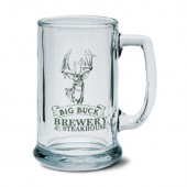15 oz. Glass Beer Mugs