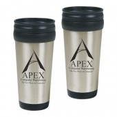 16 oz. Stainless Steel Slide Action Tumblers