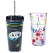 16 oz. Tritan Double Wall Tumblers with Insert