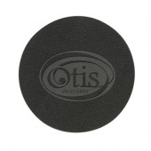 Set of 4 Bonded Leather Coasters (Debossed)