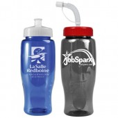 27 oz. Poly-Pure Sports Bottles