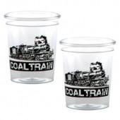 2 oz. Clear Plastic Shot Glass