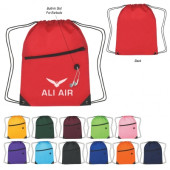 """Sports Pack with Front Zipper (13.5"""" x 18"""")"""