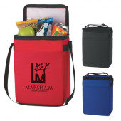 "Budget 12 Pack Cooler Bag (8"" x 11"" x 5"")"