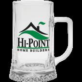 17 oz. European Glass Tankard Mug