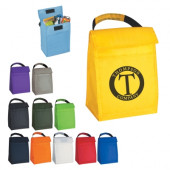 """Budget Poly Lunch Bag (6.875"""" x 9.5"""" x 4.625"""")"""