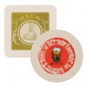 "4"" Beverage Coasters (40 pt.)"