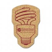 Cork CFL Bulb Coasters