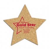 Cork Star Coasters