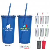 24 oz. Double Wall Acrylic Tumbler