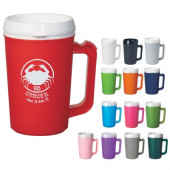 22 oz. Thermo Insulated Mugs