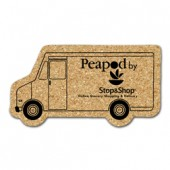 Cork Delivery Truck Coasters (Large)