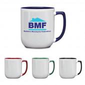 17 oz. Duo-Tone Noble Coffee Mug
