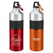 25 oz. Clean Cut Aluminum Water Bottles