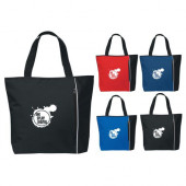 "Classic Tote with Zippered Pocket (19"" x 15"" x 5"")"