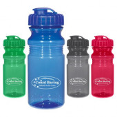 20 oz. Poly-Clear Fitness Bottles