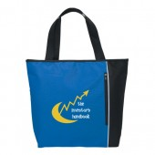 """Classic Tote with Zippered Pocket (19"""" x 15"""" x 5"""")"""