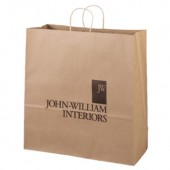 "Eco Kraft Shopping Bags (18"" x 18.75"" x 7"")"