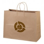"Eco Kraft Shopping Bags (16"" x 12"" x 6"")"
