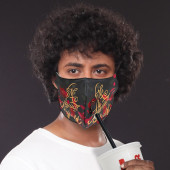 Face Mask with Straw Hole (Full Color)