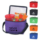 """Non-Woven Insulated Six Pack Cooler Bag (8"""" x 6"""" x 5.5"""")"""