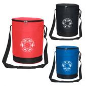 "Tall Round Cooler Bag (9"" Diameter x 12.5"")"