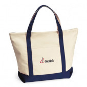 "Harbor Cruise Boat Tote (21"" x 16"" x 7"")"