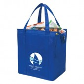 "Non-Woven Insulated Shopper Tote (13"" x 15"" x 9"")"
