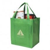 """Non-Woven Shopper Tote Bag (13"""" x 15"""" x 10"""")"""