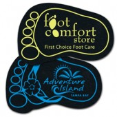 Foot Rubber Coasters
