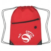 "Sports Pack with Front Zipper (13.5"" x 18"")"