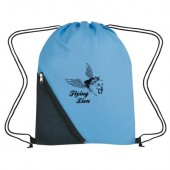 "Sports Pack with Zippered Mesh Pocket (13.5"" x 18"")"