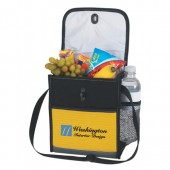 "Lunch Cooler Bag with Toggle Closure (8"" x 9"" x 4"")"
