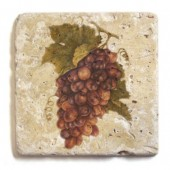 Tumbled Travertine Coasters