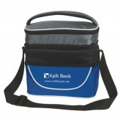 "Two Compartment Lunch Bag (9.5"" x 9.5"" x 6"")"