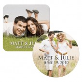 Full Color Wedding Coasters (80 pt.)