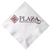 White Luncheon Napkins (Recycled 1-Ply - Large Quantities)