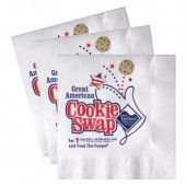 White Luncheon Napkins (Recycled 2-Ply - Large Quantities)