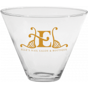 13.5 oz. Stemless Martini Glass