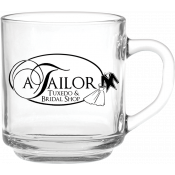 10 oz. Capri Glass Coffee Mug